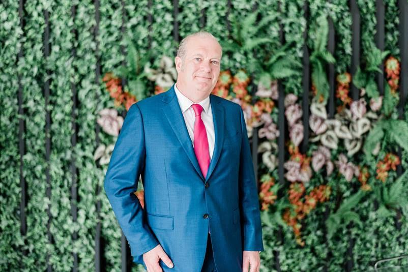 SIA CEO Damien McClean