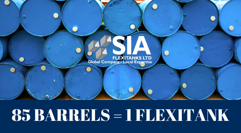 SIA 85 BARRELS EQUAL ONE SIA FLEXITANK