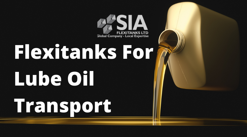 SIA Flexitanks For LUBE Oils Transport FB AD