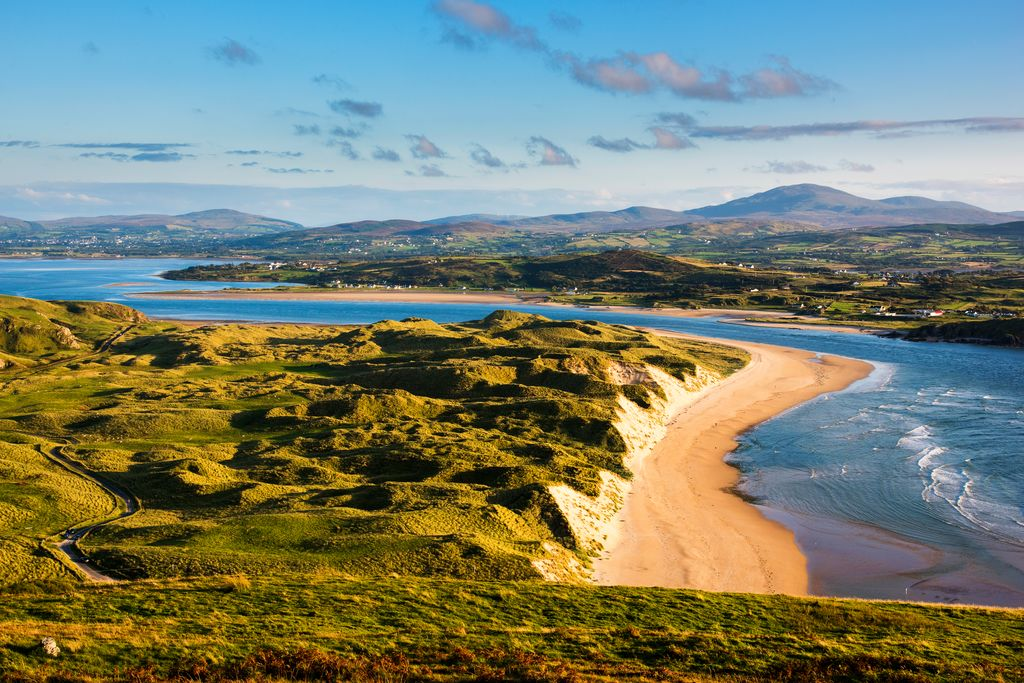 Five fingers strand Malin, Donegal