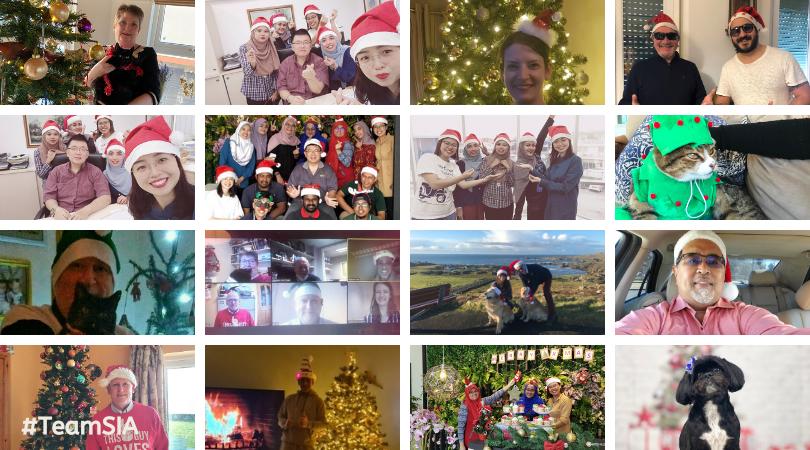 SIA Staff Christmas 2020
