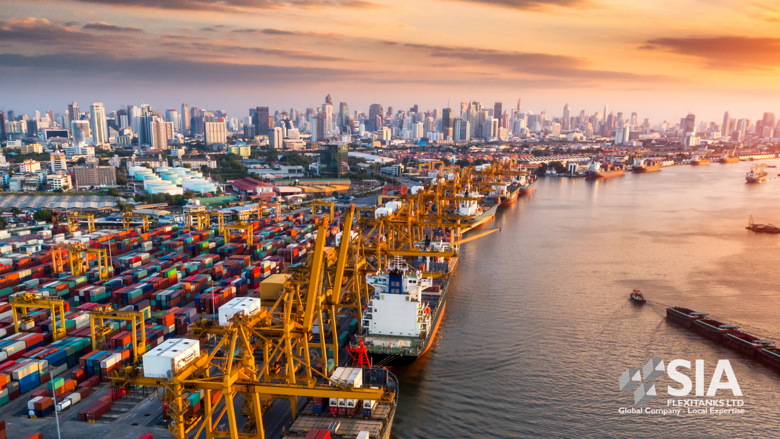 SIA FLEXITANK Advantages of Flexitanks for a Logistics Operator –