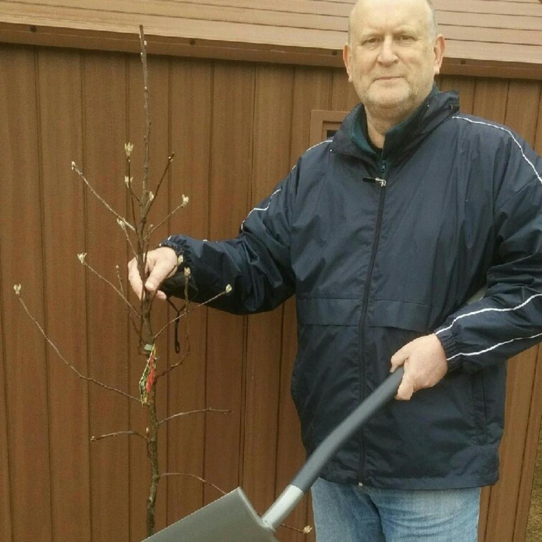 Greg, SIA Flexitanks Tree Planting