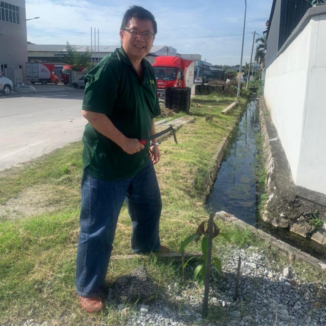 Tay, SIA Flexitanks Tree Planting