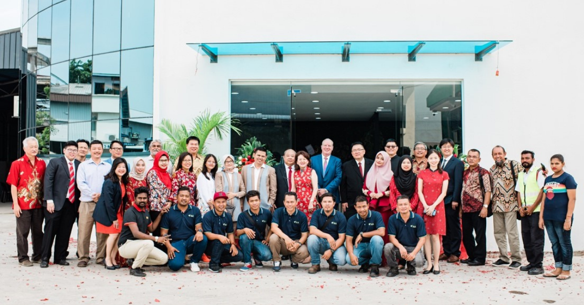 SIA FLEXITANKS 2021 NEWSLETTERThe Big day in Malaysia at the opening of our very own state of the at office and warehouse. 2019.
