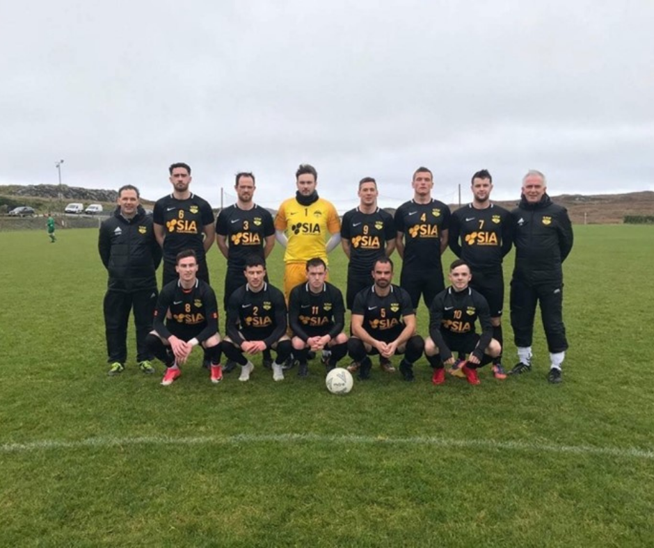 SIA Flexitanks in the community – sponsors of Glengad FC