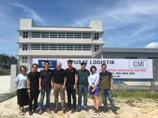 SIA Opening the new CMI warehouse in Malaysia.