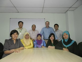 SIA Team Asia in the early days