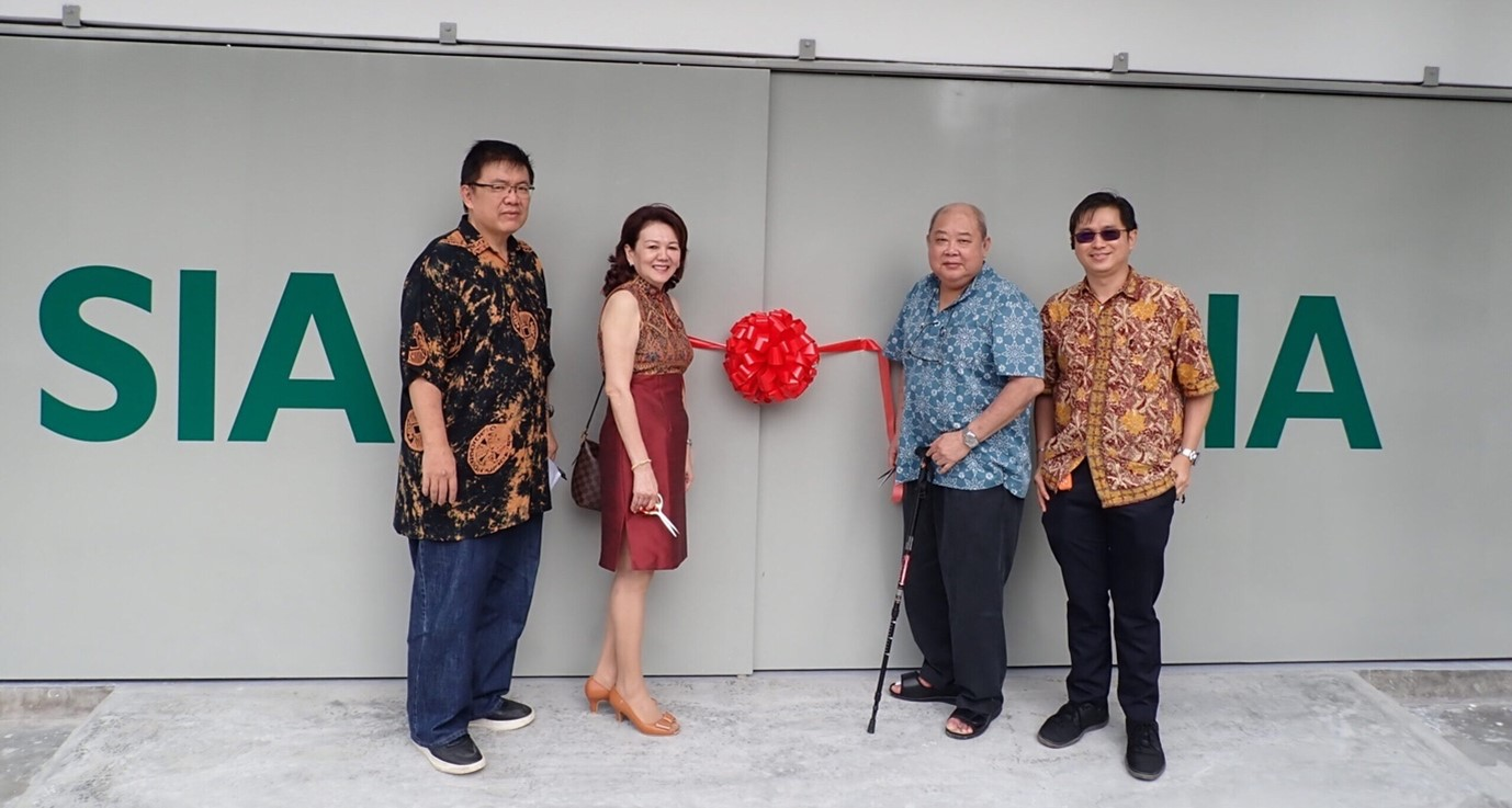 SIA The opening of our new office in Penang in 2020.